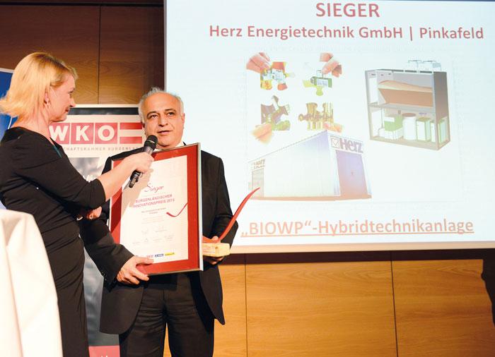 Premio per l'innovazione del Burgenland 2015