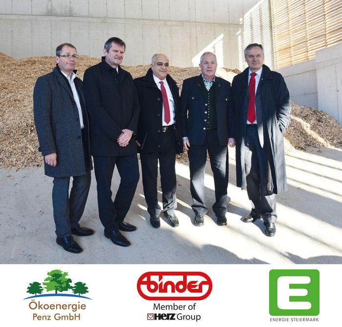 Apertura della centrale termica a biomassa di Bärnbach