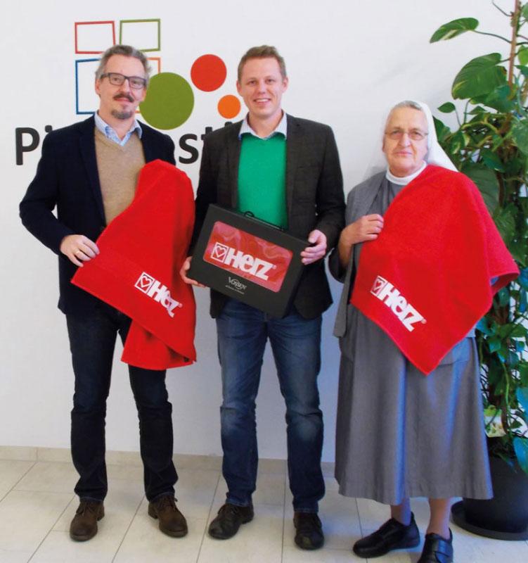 HERZ & VOSSEN – La grande raccolta fondi