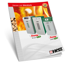 Log fired heating system