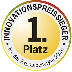 1. Platz Innovation Expobioeneriga 2006