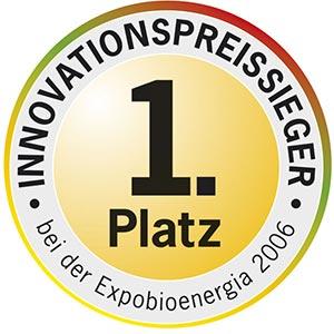 1. Platz Innovation Expobioeneriga 2006
