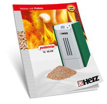 Heating with pellets