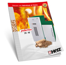 Heating with logs & wood pellets