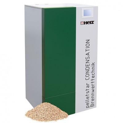 HERZ Pelletskessel pelletstar CONDENSATION 10-60