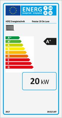 Energielabel-firestar-De-Luxe